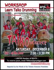 Taiko Drummer Workshop