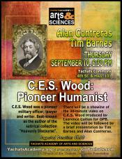 C E S Wood: Pioneer Humanist, Sept 10th, 6:30pm