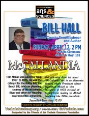 Bill Hall, McCallandia, 2pm April 12, 2015