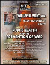 Public Health and the Prevention of War