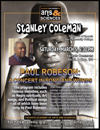 Stanley Coleman's Paul Robeson: A Concert in Song and Words