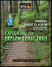 Exploring the Oregon Coast Trail, Aug 13th, 6:30pm