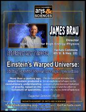 Einstein's Warped Universe: Riding Gravity Waves Through Spacetime