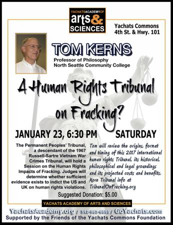 A Human Rights Tribunal on Fracking?
