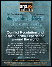 Conflict Resolution and Open Forum Experience Around the World