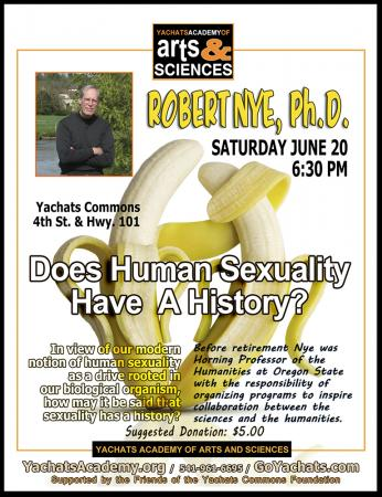 Robert Nye, Does Human Sexuality Have a History?