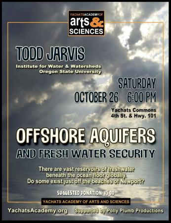 Offshore Aquifers and Fresh Water Security